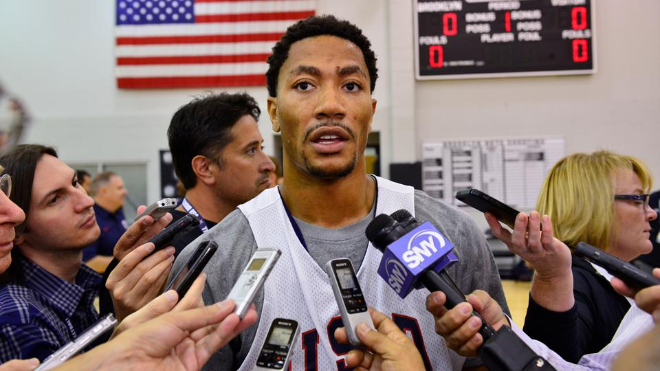 Derrick Rose says he'll play for Team USA Friday against Puerto Rico
