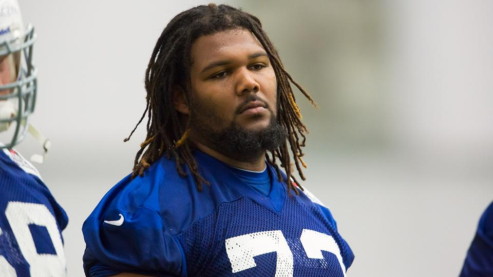 Colts DT Montori Hughes on leave after infant daughter's death