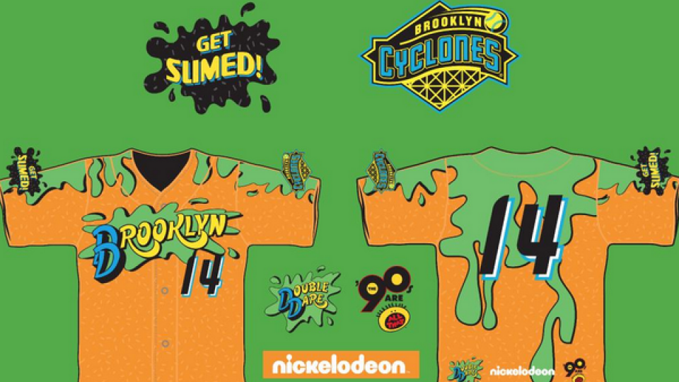 Mets Single-A affiliate will wear Nickelodeon jerseys for 90's night