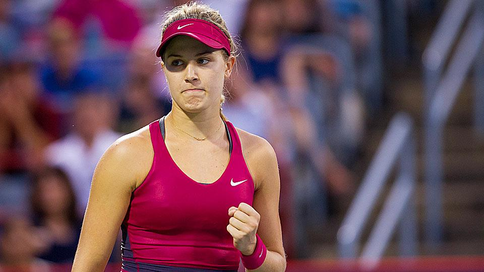 Eugenie Bouchard had a dream that Beyonce won the U.S. Open, which would prove Queen B really can do anything.