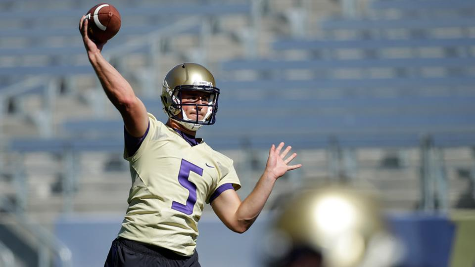 Jeff Lindquist named Washington's starting QB for season opener