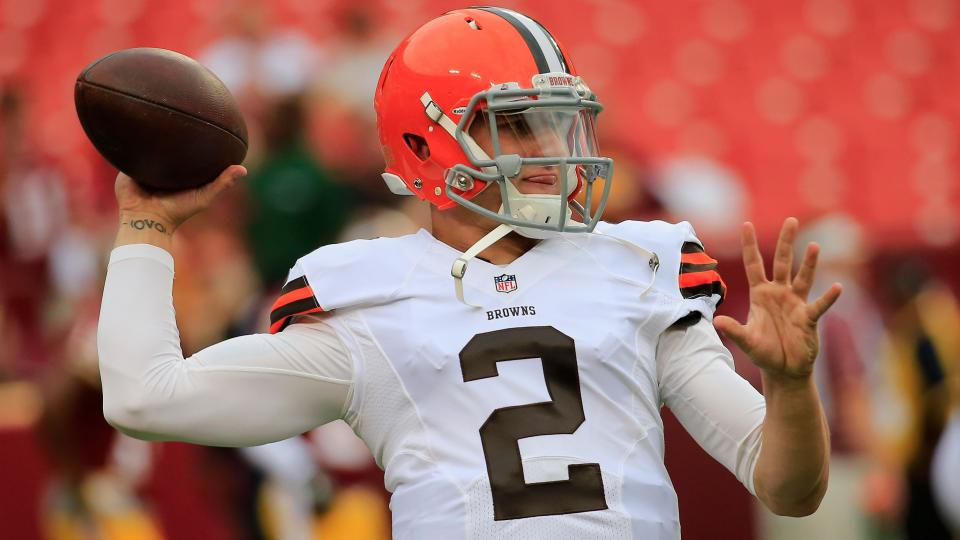 Browns receiver Nate Burleson: Johnny Manziel 'still the man'