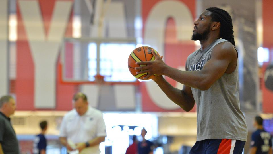 Kenneth Faried 'extremely surprised' by starting role for Team USA