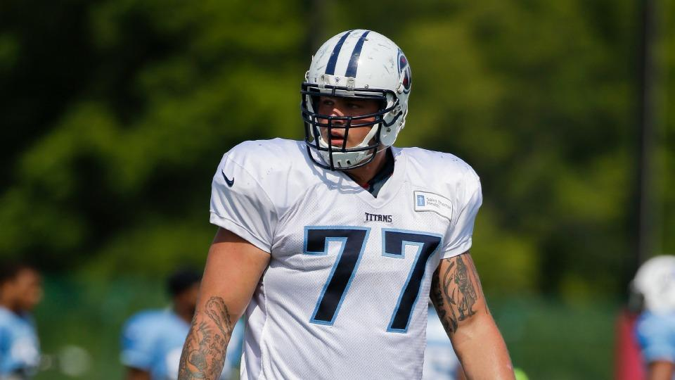 Titans rookie Taylor Lewan fined for unnecessary roughness