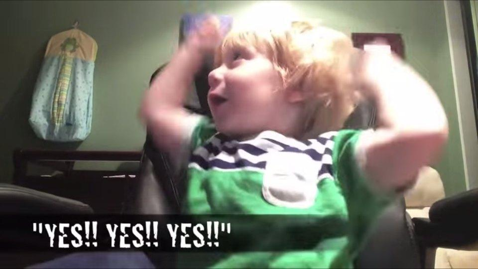 This two-year old WWE fan can name any entrance music in just a few notes