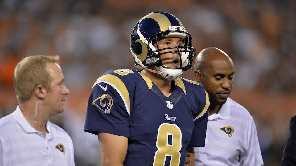 Sam Bradford's ACL fine, Rams coach optimistic about quick return