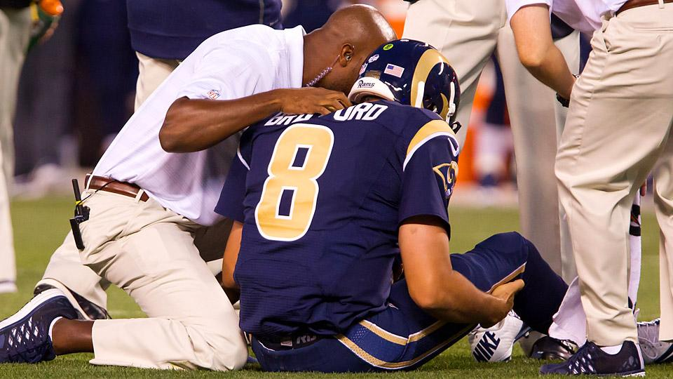What's next for the Rams with Sam Bradford done for 2014?