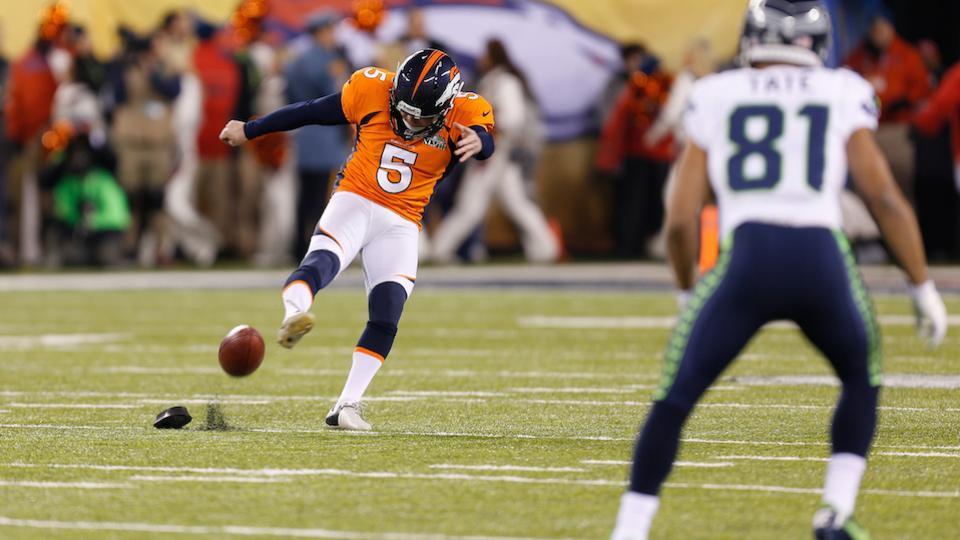 Broncos kicker Matt Prater suspended four games