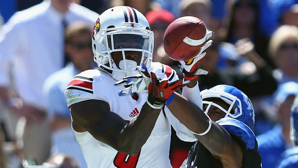 Louisville receiver DeVante Parker out six to eight weeks with broken foot