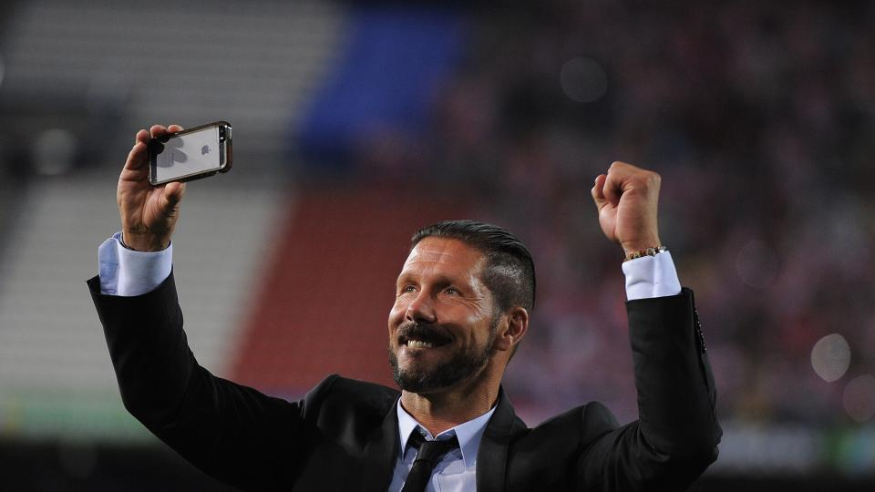 Diego Simeone suspended Atlético Madrid manager