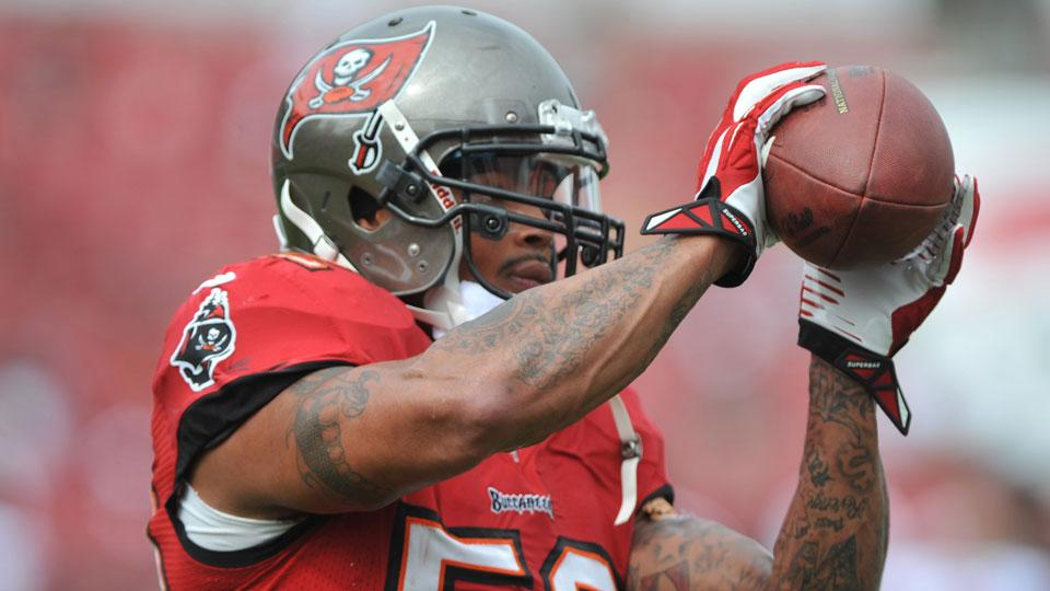 Buccaneers hold Jonathan Casillas out of game for 'disciplinary reasons'