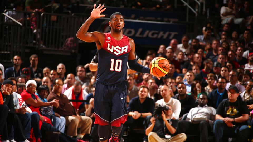 Kyrie Irving to start at point guard for Team USA against Slovenia