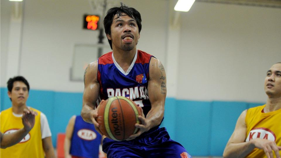 Philippine Basketball Association team drafts Manny Pacquiao in the first round