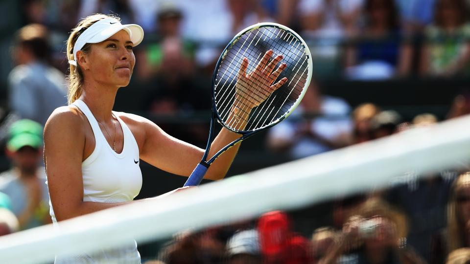 Maria Sharapova at the U.S. Open