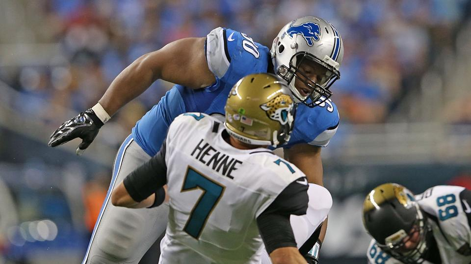 Jim Caldwell plans talk with Ndamukong Suh about late hits