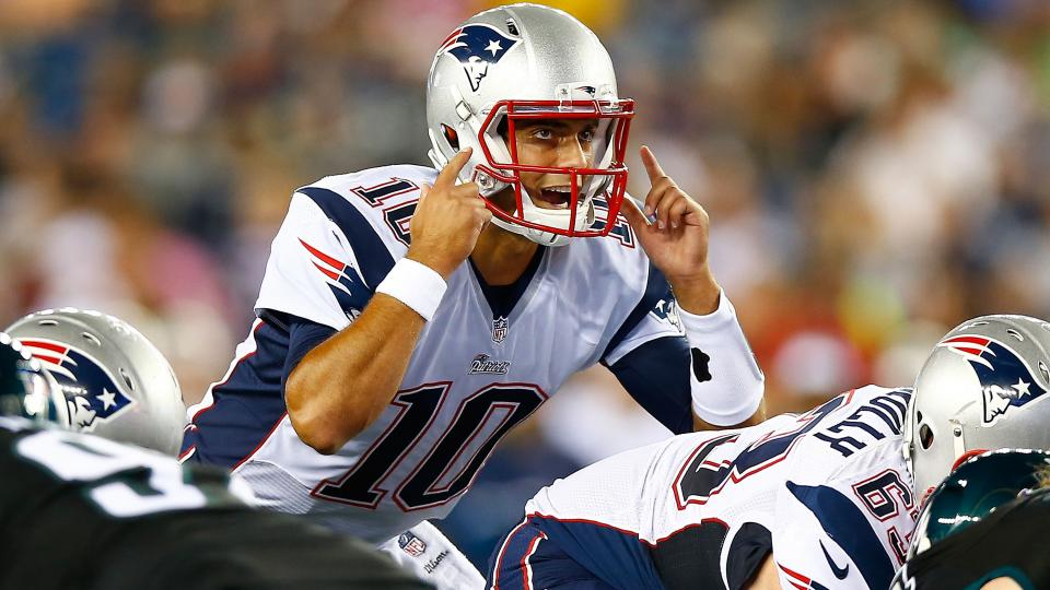 Jimmy Garoppolo expected to play most of Patriots' preseason finale