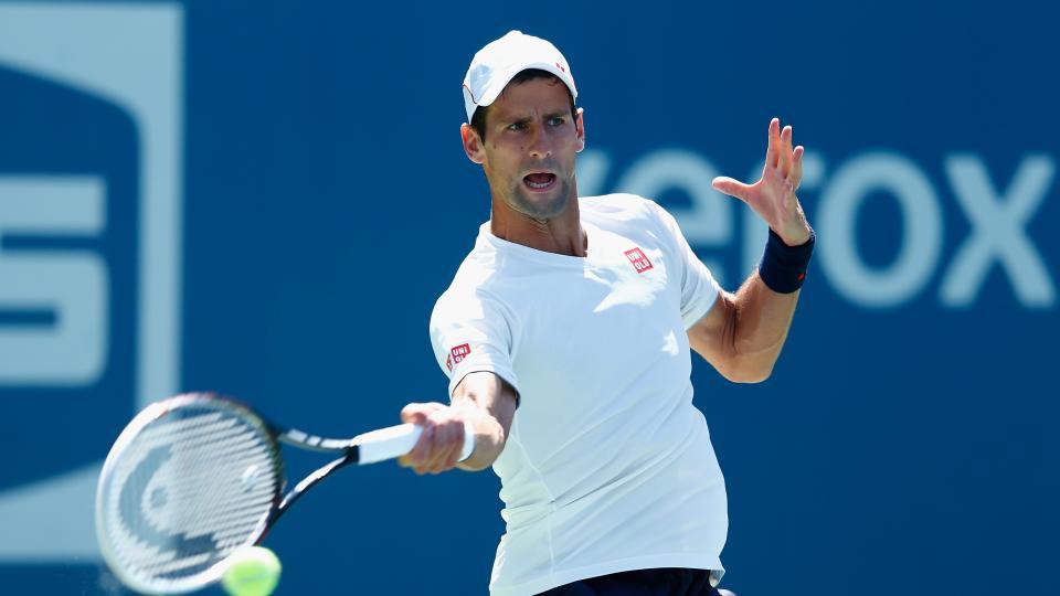Novak Djokovic at the U.S. Open