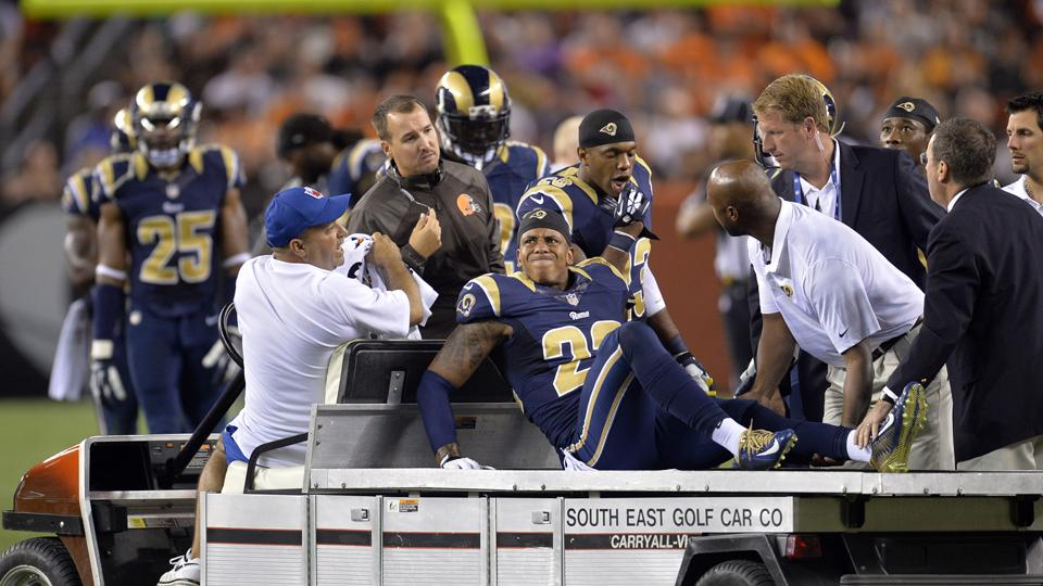 Rams' Trumaine Johnson out 4 to 6 weeks with sprained MCL