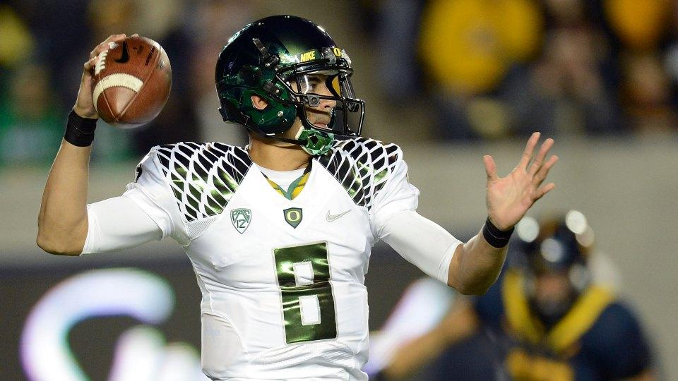 Oregon has 25 different Marcus Mariota No. 8 jerseys for sale