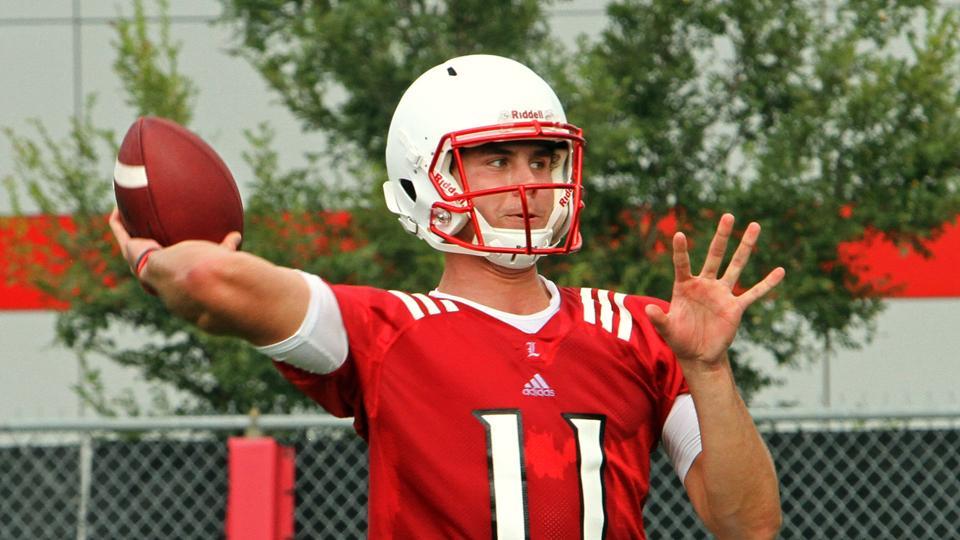 Louisville names Will Gardner starting quarterback
