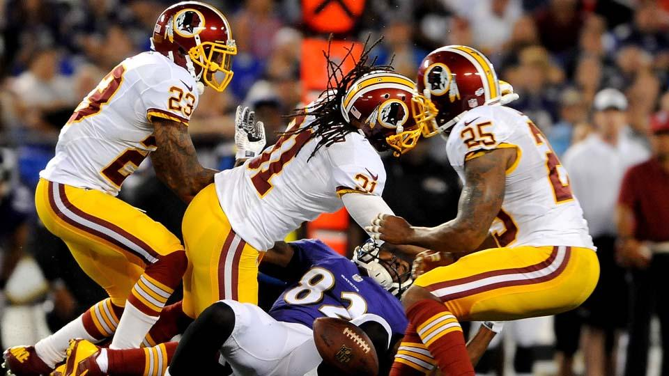Redskins safety Brandon Meriweather appeals two-game suspension