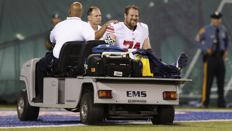 Report: Giants' Geoff Schwartz likely to go on short-term injured reserve