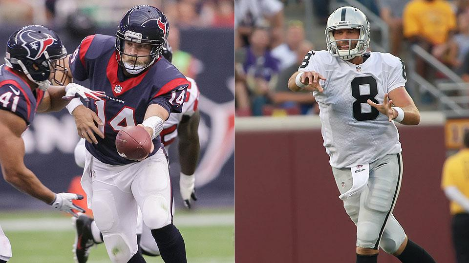 Ranking NFL's most concerning QB situations ahead of the 2014 season