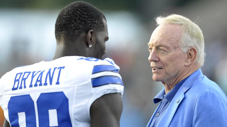 Report: Dez Bryant, Jerry Jones meet to discuss possible deal