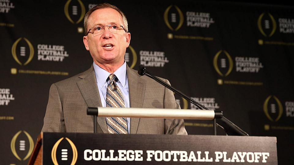 Meet the public face of the playoff selection committee; Walkthrough