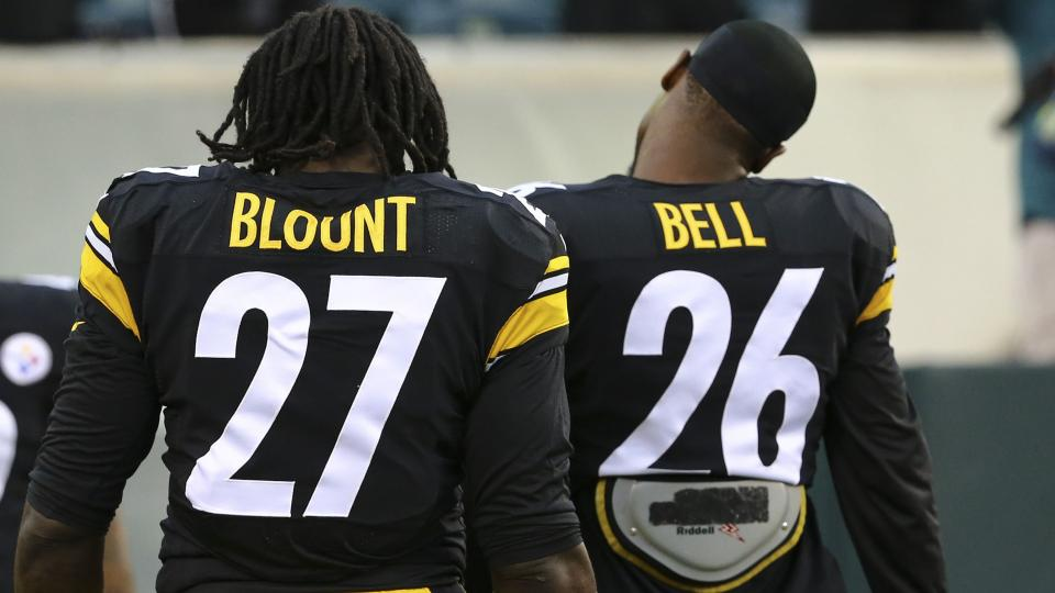 Steelers running backs LeGarrette Blount and Le'Veon Bell were charged with marijuana possession last week.