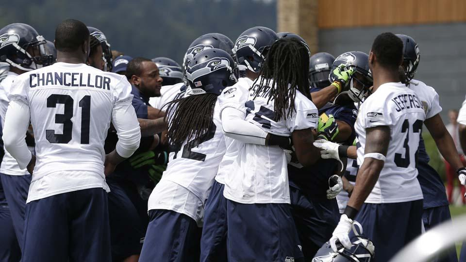 Report: NFLPA inquiry started after Richard Sherman minicamp fight