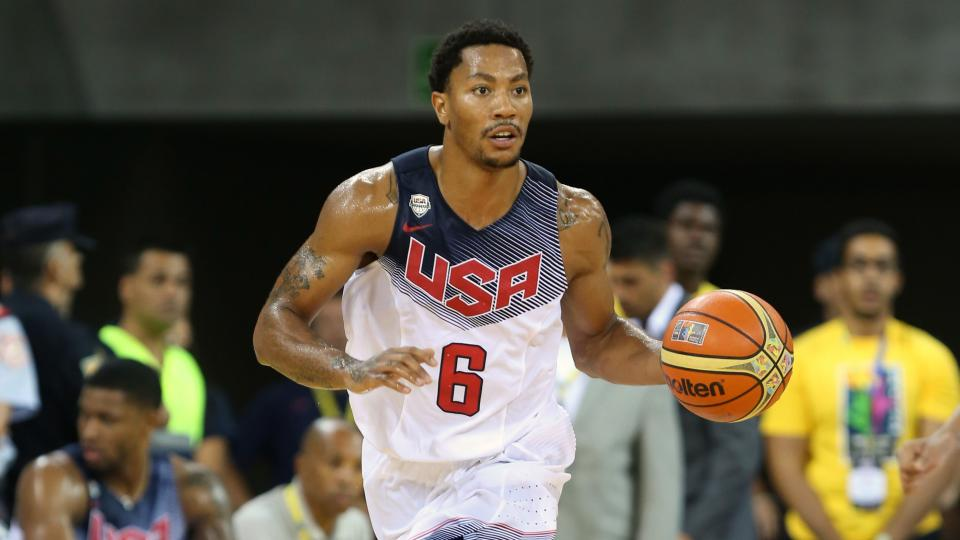 Derrick Rose says injury concerns are behind him entering World Cup