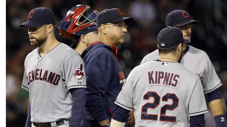 Indians' Francona, Kluber upset at post-review denial of warmup pitches