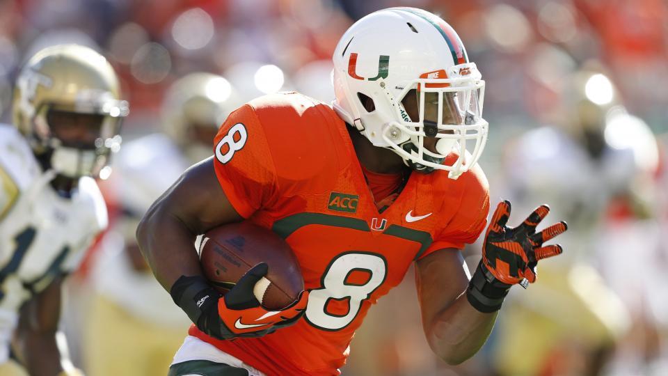 Duke Johnson ran for nearly 1,000 yards last season.