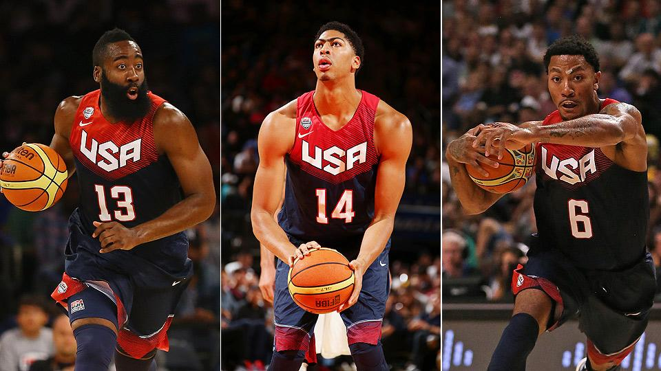 James Harden, Anthony Davis and Derrick Rose all have reputations at stake during USA Basketball's run for a FIBA Basketball World Cup gold medal.