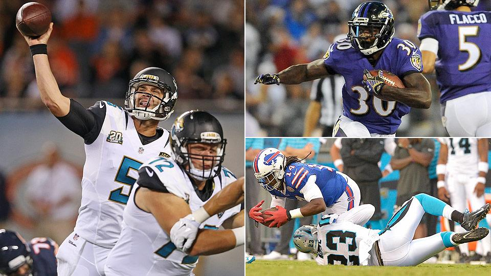 Cover-Two: Examining the highs and lows of the 2014 NFL preseason