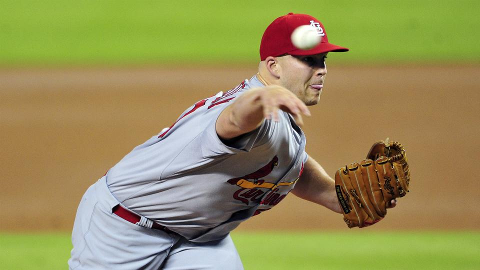 Cardinals' Justin Masterson to pitch exclusively out of stretch in next start