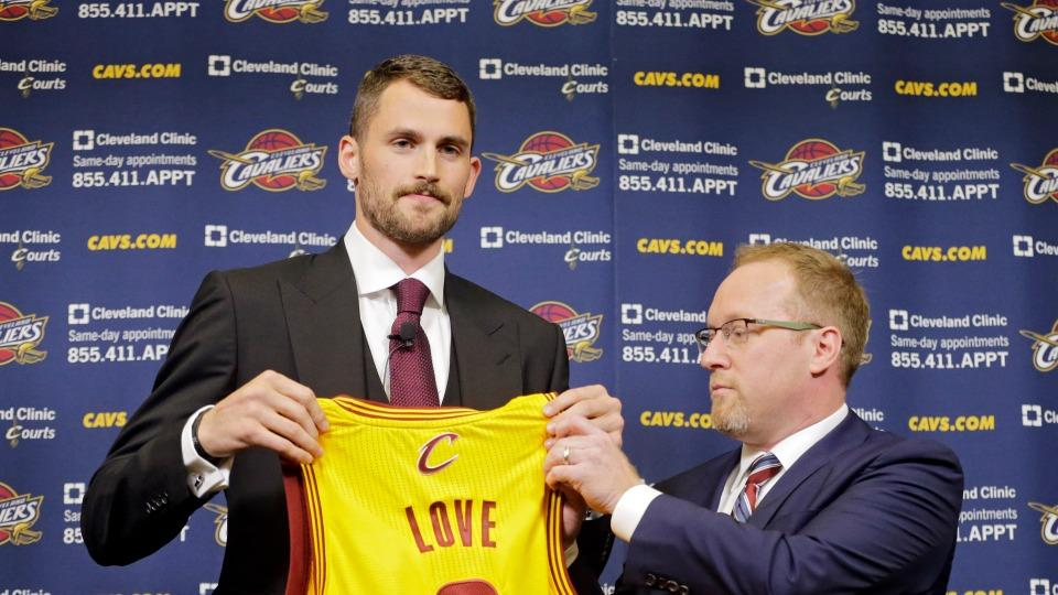Cavaliers GM David Griffin has no concerns about Kevin Love's defense