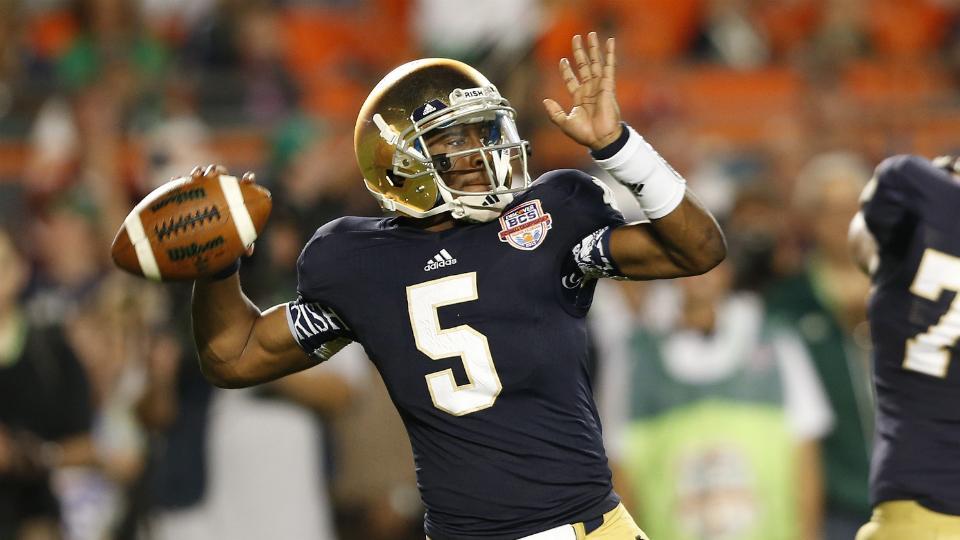 Rice vs. Notre Dame: Game time, live stream, TV coverage