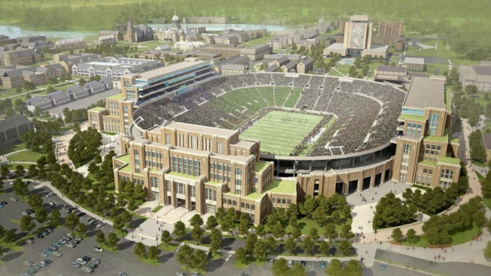 Notre Dame Stadium work to start in November
