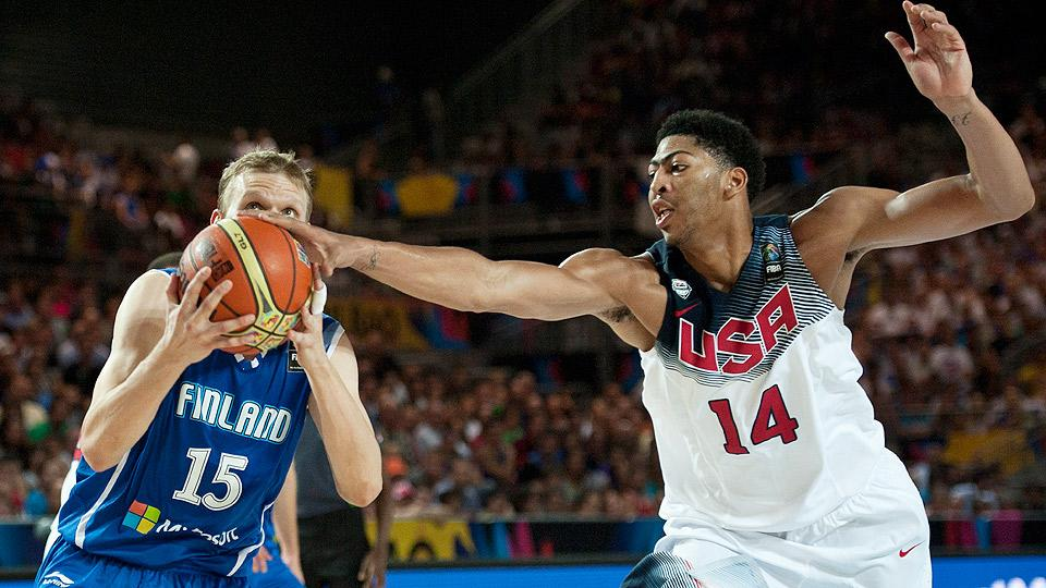 Three-pointers: USA Basketball smothers Finland in wall-to-wall rout