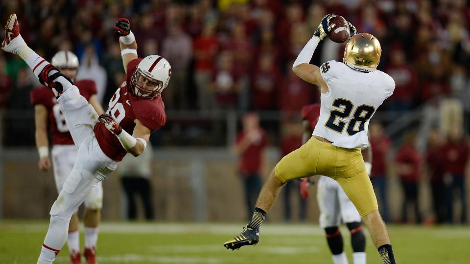 Notre Dame safety Austin Collinsworth to miss season opener