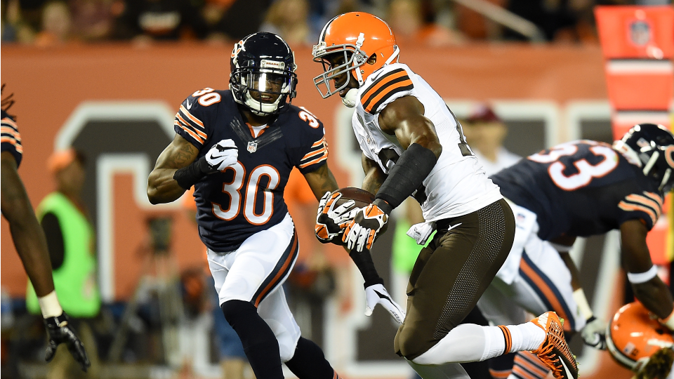 Browns cut veteran WR Nate Burleson