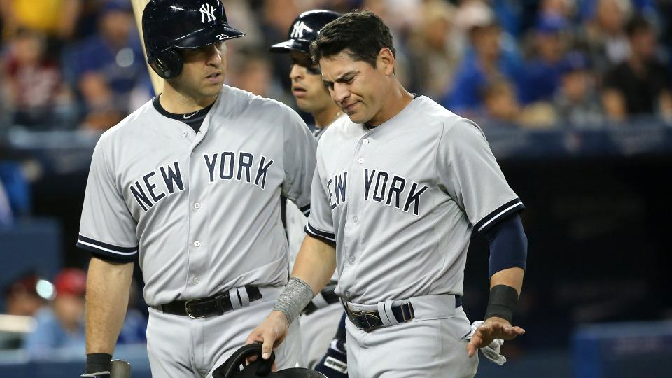 Yankees' Jacoby Ellsbury out Saturday with sprained ankle