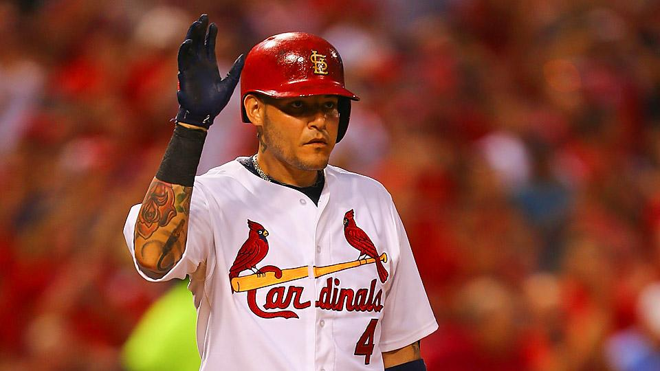 Yadier Molina's return will boost Cardinals' hopes, chances for October