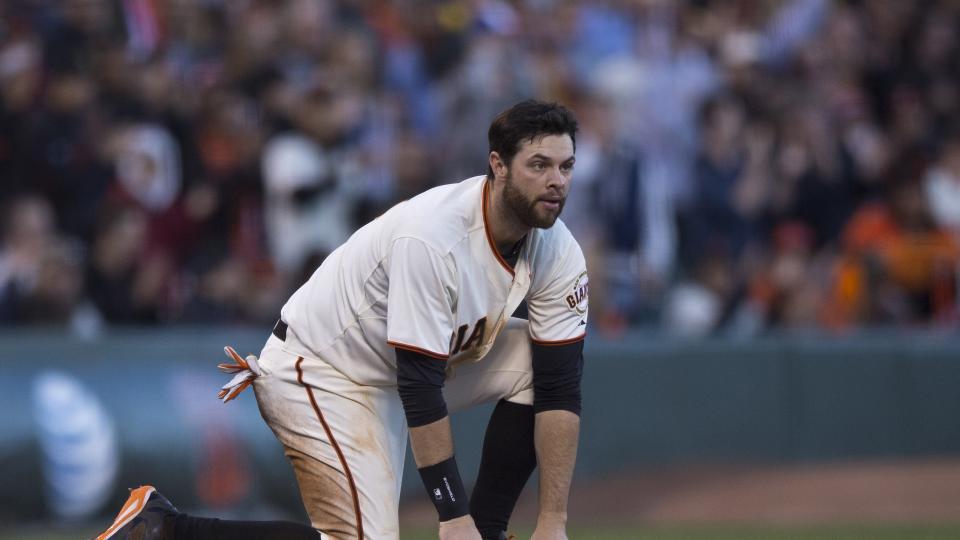Report: Giants 1B Brandon Belt 10 days away from baseball activities