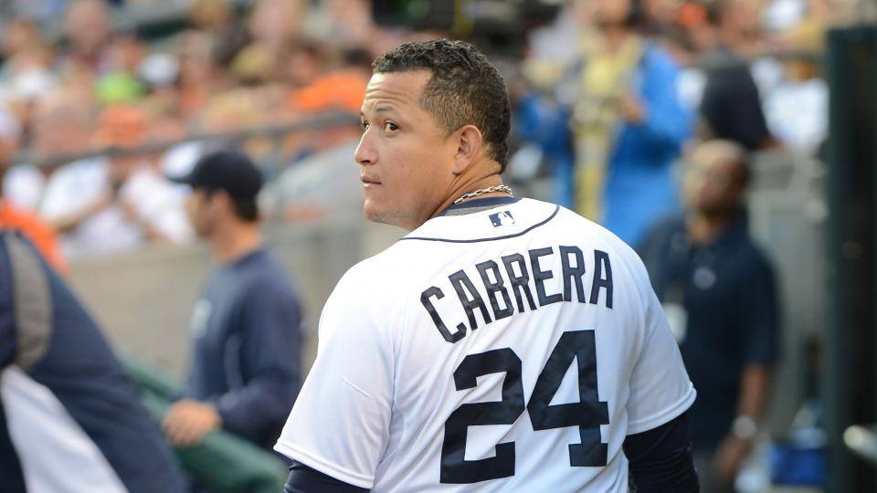 Report: Tigers 1B Miguel Cabrera could get extended rest for ankle
