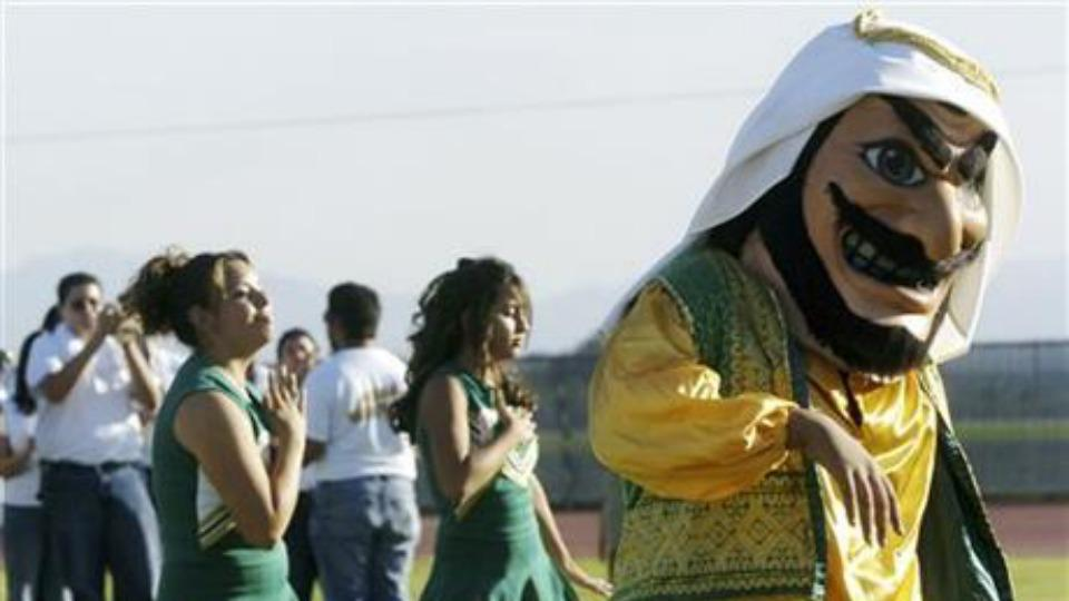 California high school retires controversial 'Arab' mascot