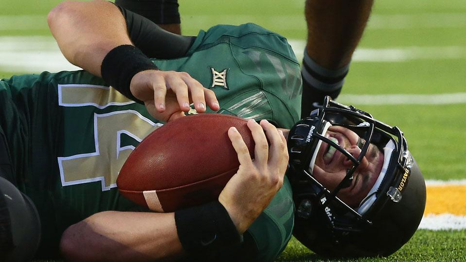 Report: Baylor QB Bryce Petty day-to-day with back injury