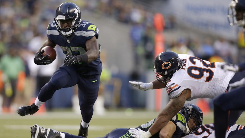 Seahawks RB Michael 'banged up,' status for opening day unknown